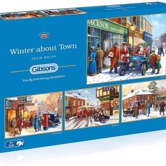 Winter About Town Jigsaw