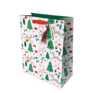 Katie Phythian Woodland Deer large Gift Bag