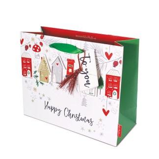 Katie Phythian Winter Houses Gift Bag