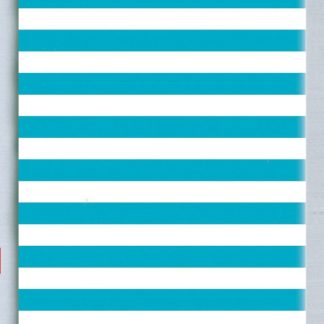 Aqua Stripe Tissue