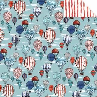 Hot Air Balloons Gift Wrap