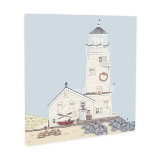 Lighthouse Canvas by Sally Swannell
