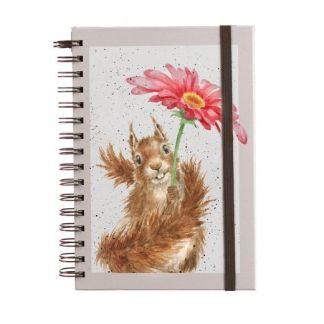A5 Spiral bound Squirrel Notebook