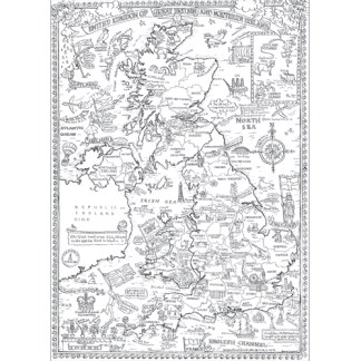 Colour in British Isles Poster