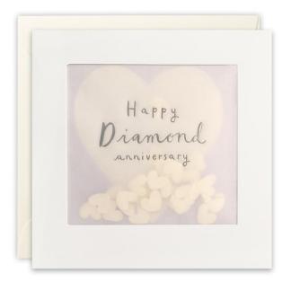 Diamond Anniversary Shakies Card