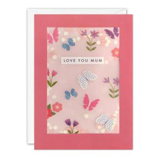 Butterflies Mothers Day Shakies Card
