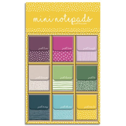 Just Because Mini Notepads