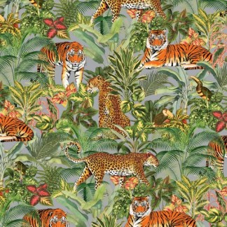 Tropical Tiger gift wrap