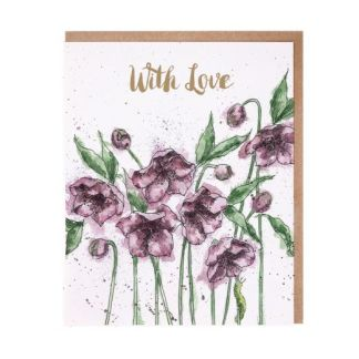 Hellebores With Love card