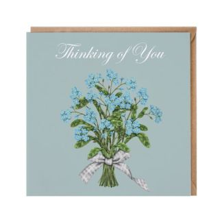 'Thinking of You' floral card