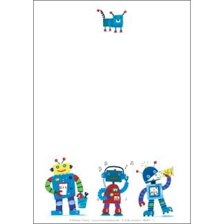 Robots Stationery Set