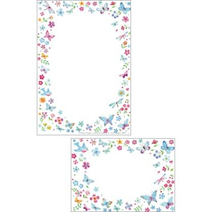 Pretty Little Flowers Stationery Set
