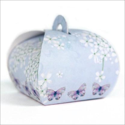 Purple Butterflies Mini Gift Boxes
