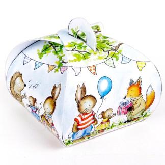 Woodland Animals Mini Gift Boxes