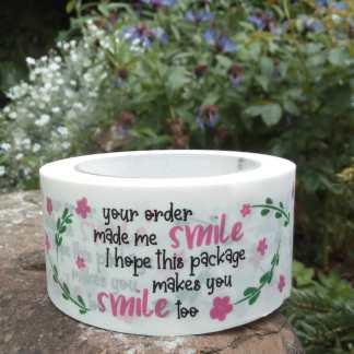 Smile kraft paper tape