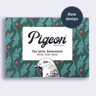 Seedlings pigeon folded letters