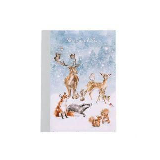 A6 Winter Wonderland Notebook