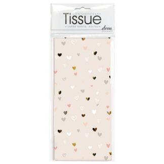 Mini Hearts Tissue