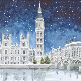 London in Winter Christmas Cards