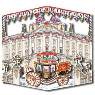 Buckingham Palace fold out 3D
