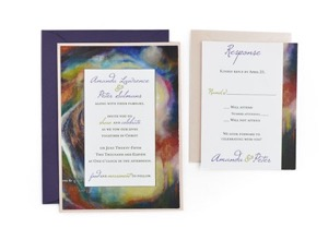 Cards and Pockets   Free Wedding Invitation Templates with RSVP Artistic   Free Wedding Invitation Template