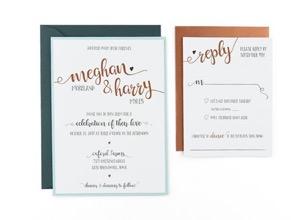 Rustic Free Wedding Invitation Template