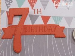 Foxy Friends, Cat, 7th Birthday, DIY, #stampinup, Handmade