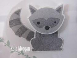 Shadow Box, Foxy Friends, Racoon, DIY, #stampinup, Handmade