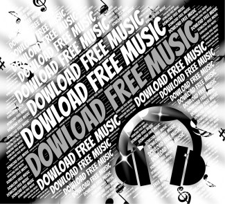 Download Free Music Indicating Sound Track And Data