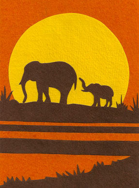 African Cards From Africa