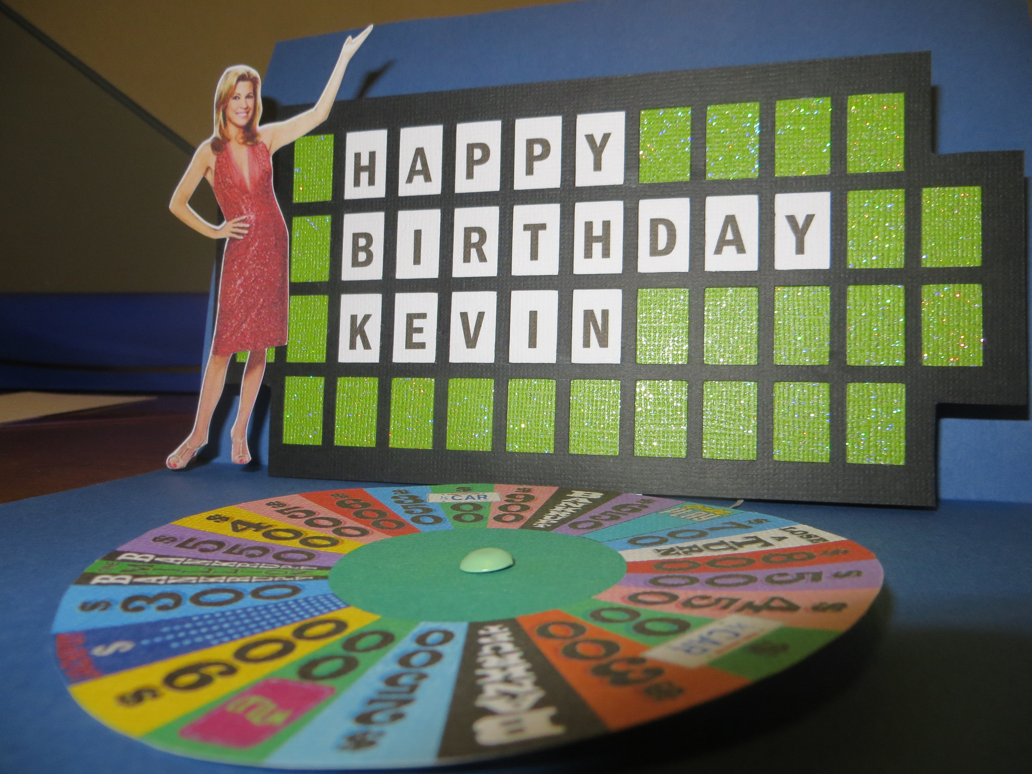 Wheel Of Fortune Card