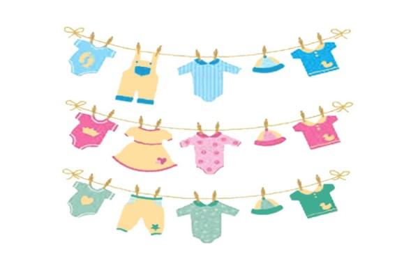 Baby Clothesline Image