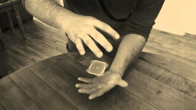 Learn levitating card trick Off The Palm of Your Hand