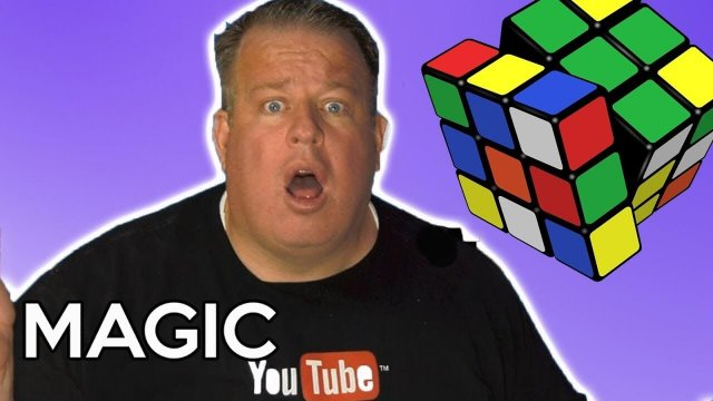 How To Solve A Rubik's Cube Instantly (As a Magic Trick)