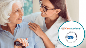 Press Release: CareAcademy Partners with Visiting Nurse Service of New York to Transform Training and Certification Strategy for VNSNY Frontline Care Workers