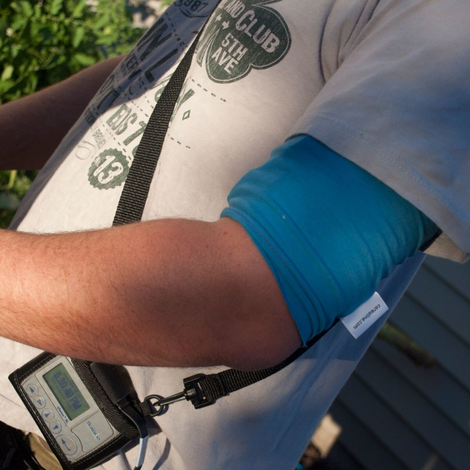 Do your normal activities while wearing your CareAline PICC sleeve.