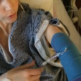 The CareAline PICC sleeve is hospital used and approved.