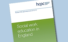 Report: HCPC publishes review of social work education in England 14