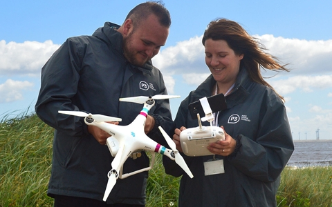 Charity embraces drone technology to look for rough sleepers in the countryside 1