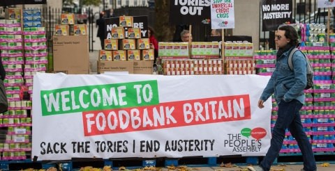 One in 10 young parents turning to food banks and skipping meals over money worries 5
