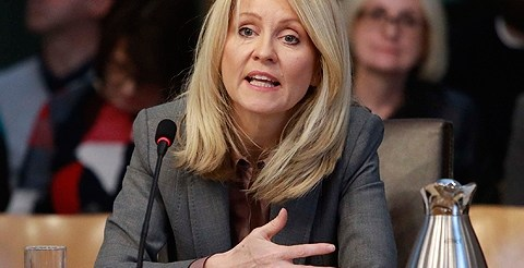 McVey denies culture of 'indifference' at DWP and admits Universal Credit change needed 19