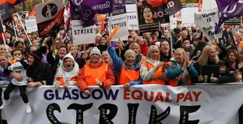 Union and council hold 'constructive' talks after equal pay strike in Glasgow 6