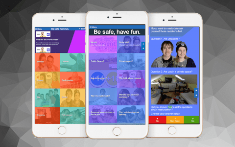 Webwatch: New app to inform young with learning difficulties on sexual health and consent 9