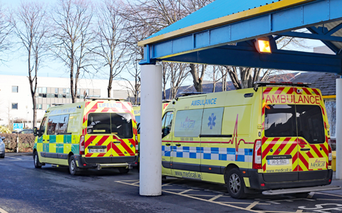Welsh A&E units record worst ever waiting times with just 72% seen within four hours 5