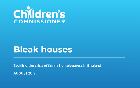 Report: Bleak Houses - Tackling the crisis of family homelessness in England 2
