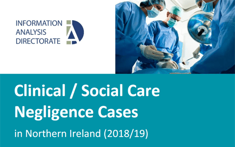 Report: Clinical / Social Care Negligence Cases in Northern Ireland (2018/19) 1