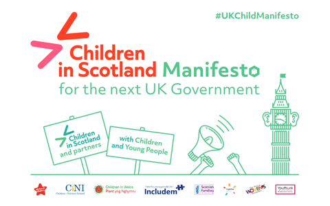 Children's charities in Scotland release election manifesto ahead on polling day 10