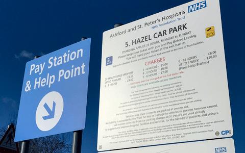 Patients across England slam 'exorbitant' hospital car parking charges 9