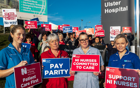 DH chief urges unions back to negotiating table ahead of planned heathcare strikes 7