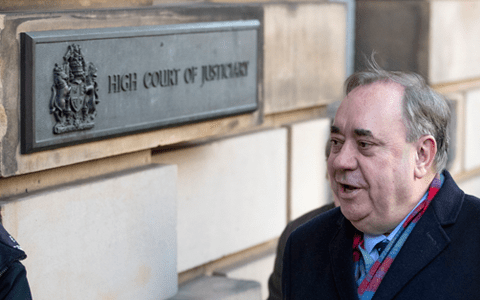 Alex Salmond appears in High Court on attempted rape and sexual assault charges 2
